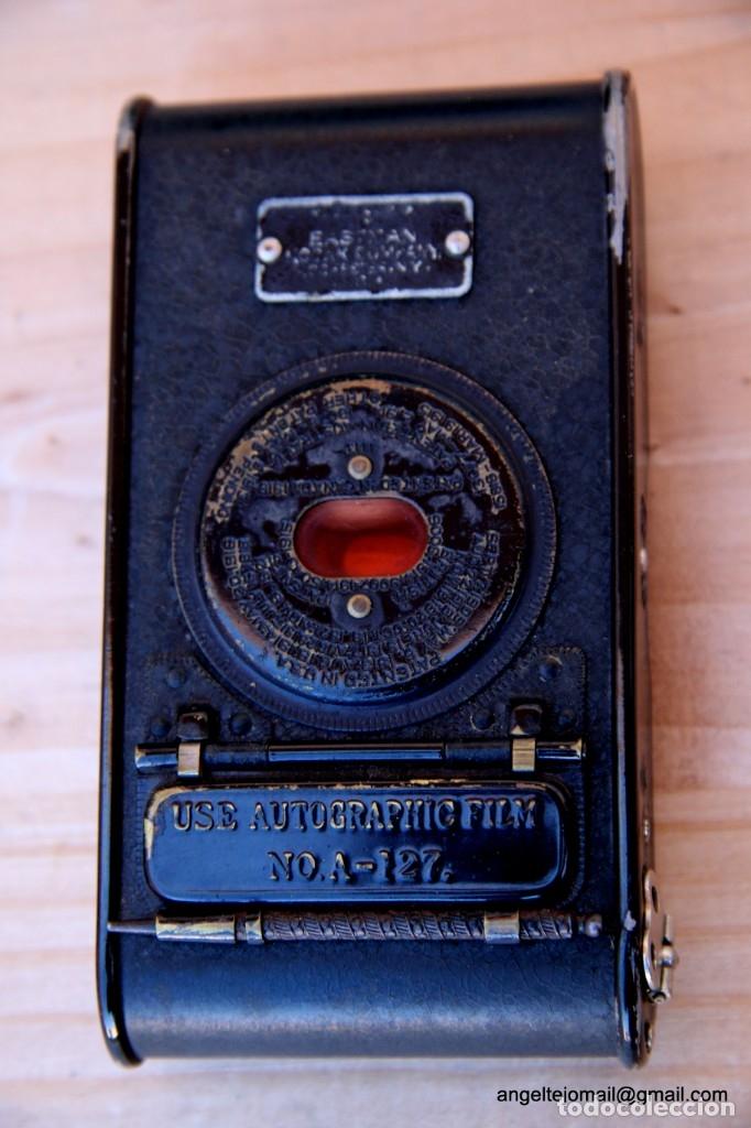 Cámara de fotos: Folding Vest Pocket Kodak.Autographic. A127 - Foto 7 - 183311532
