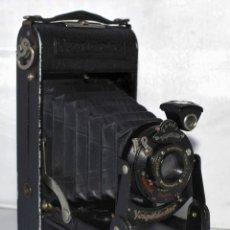 Cámara de fotos: CAMARA ALEMANA ANTIGUA DE FUELLE..VOIGTLANDER BESSA.PRIMER MODELO .1929..MUY BUEN ESTADO..FUNCIONA.. Lote 183326603