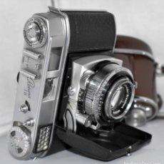Cámara de fotos: MÍITICA ,35MM..KODAK RETINA 1B(TYPE 019 II).Nº502831..ALEMANIA 1958...MUY BUEN ESTADO.. FUNCIONA. Lote 183330257
