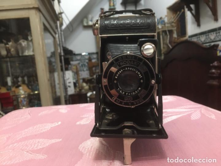 Cámara de fotos: Cámara antigua de fuelle Kodak Junior 620 - Foto 2 - 183378547