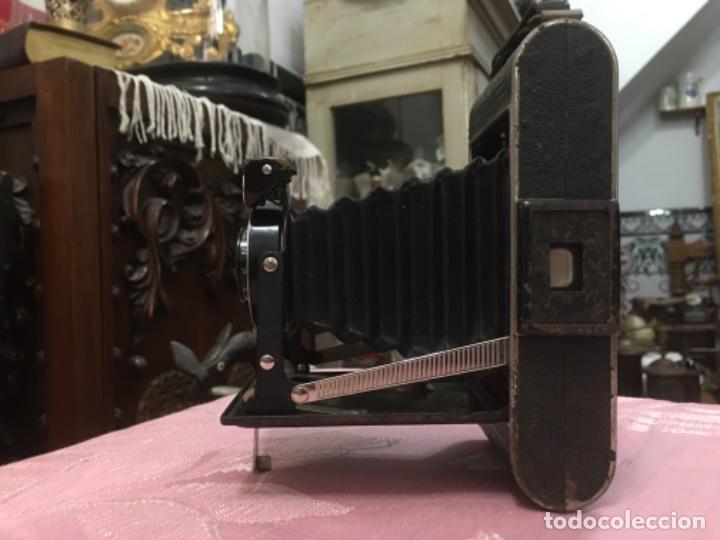 Cámara de fotos: Cámara antigua de fuelle Kodak Junior 620 - Foto 3 - 183378547