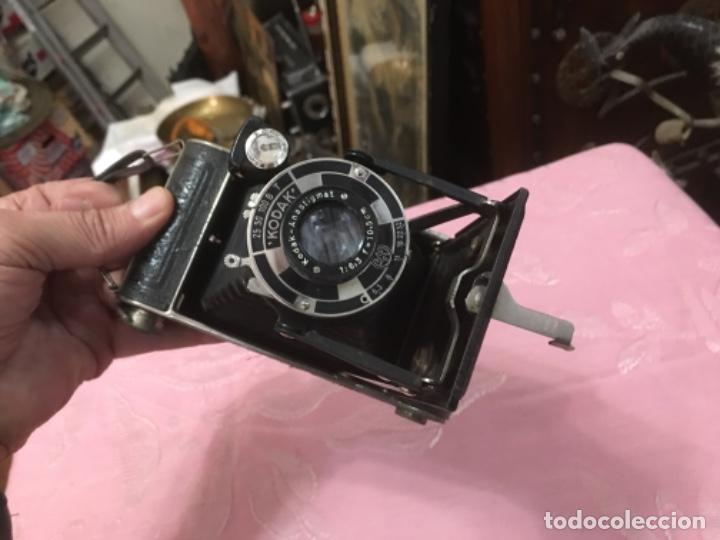 Cámara de fotos: Cámara antigua de fuelle Kodak Junior 620 - Foto 8 - 183378547