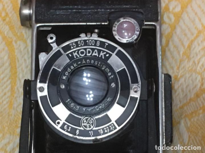 Cámara de fotos: Cámara antigua de fuelle Kodak Junior 620 - Foto 9 - 183378547