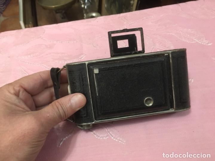 Cámara de fotos: Cámara antigua de fuelle Kodak Junior 620 - Foto 10 - 183378547