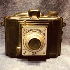 Cámara de fotos: CAMARA FOTOGRAFICA ANTIGUA DE BAQUELITA SUPER CAPTA. Lote 184011096