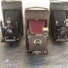 Cámara de fotos: 3 ANTIGUAS CAMARAS DE FOTOS. Lote 184130440
