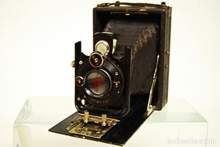 Cámara de fotos: cámara de placa - Foto 2 - 185969938