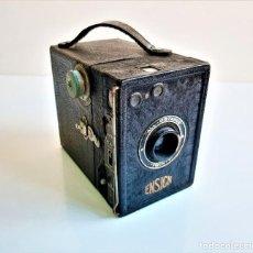 Cámara de fotos: ANTIGUA CAMARA ENSIGN ENGLAND EN FUNDA. Lote 186167867