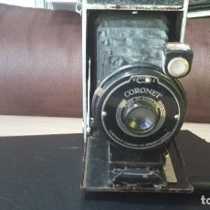 Cámara de fotos: MAQUINA FOTOS CORONET AÑOS 30, HECHA EN INGLATERA. Lote 187193482