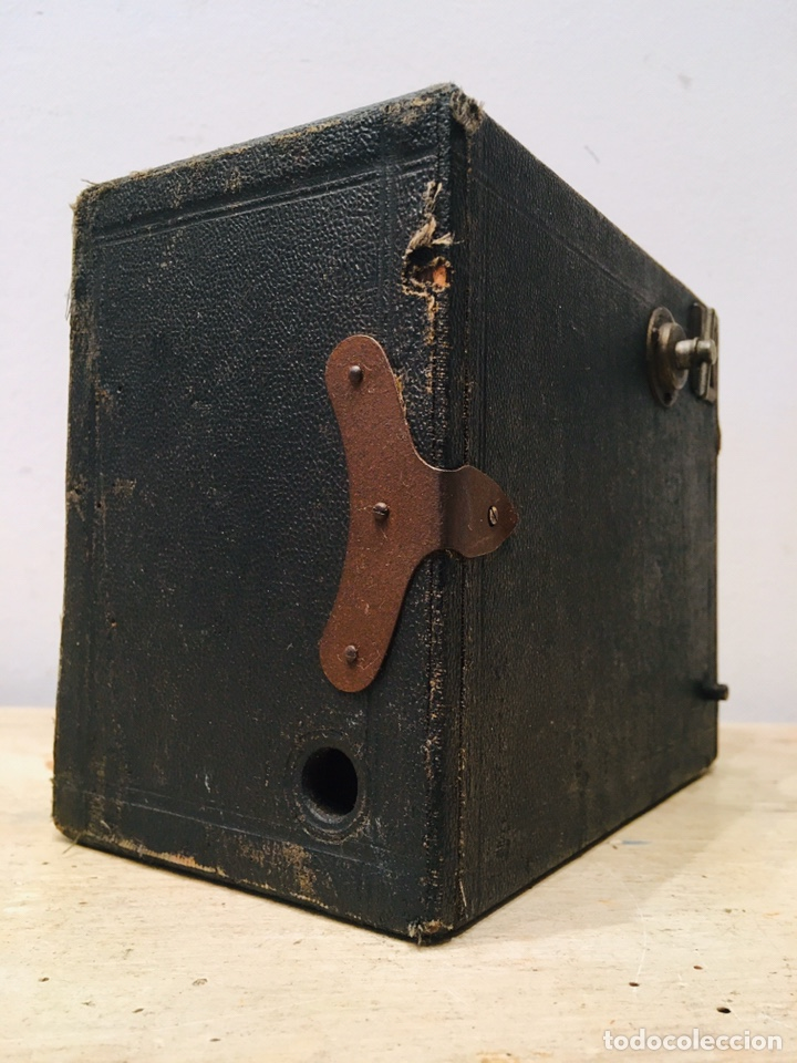 Cámara de fotos: ANTIGUA CÁMARA DE FOTOS BOX AÑOS 30 MAQUINA FOTOGRAFICA CUADRADA - Foto 6 - 214960131