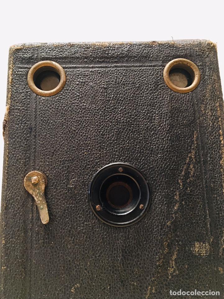 Cámara de fotos: ANTIGUA CÁMARA DE FOTOS BOX AÑOS 30 MAQUINA FOTOGRAFICA CUADRADA - Foto 7 - 214960131