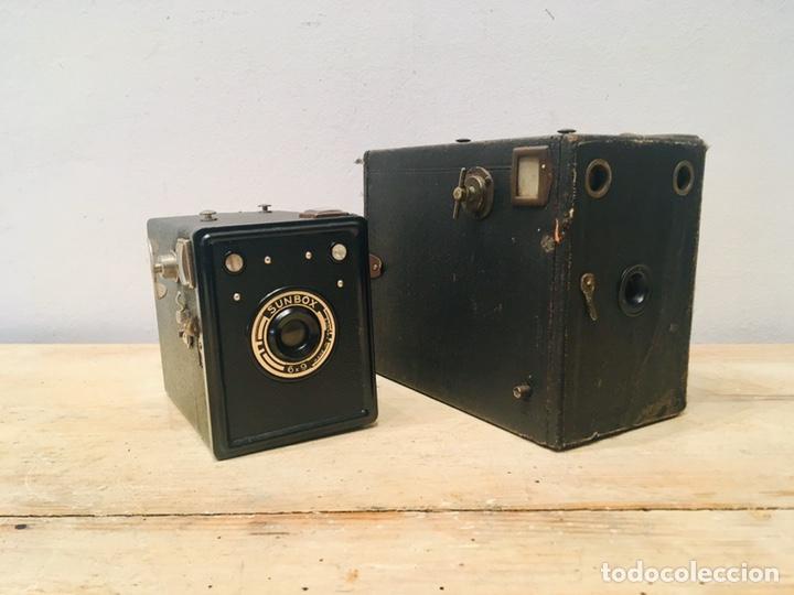 Cámara de fotos: ANTIGUA CÁMARA DE FOTOS BOX AÑOS 30 MAQUINA FOTOGRAFICA CUADRADA - Foto 10 - 214960131