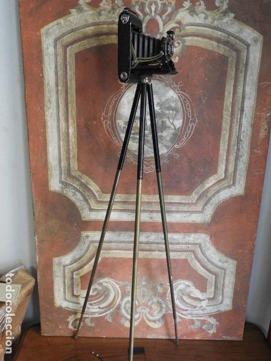 Cámara de fotos: CAMARA DE FOTOS DE FUELLE ZEISS IKONTA CON TRIPODE, FOTOMETRO LENTES MUY COMPLETA - Foto 16 - 187432177