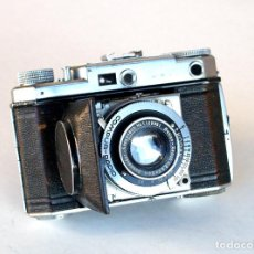 Cámara de fotos: *C1938* • KODAK RETINA II (TYPE 142) 1ª TELEMÉTRICA • SCHNEIDER XENON F2.8 COMPUR RAPID. Lote 187578663