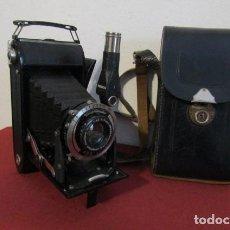Cámara de fotos: ANTIGUA CÁMARA FOTOGRÁFICA FUELLE PLEGABLE DE FOTOS ALEMANA VOIGTLÄNDER BESSA VOIGTAR 4,5 AÑO 1937. Lote 188676123