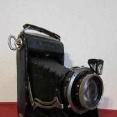 Cámara de fotos: ANTIGUA CÁMARA FOTOS FOTOGRÁFICA ALEMANA FUELLE PLEGABLE MARCA ZEISS IKON NETTAR 515/2 AÑO 1937 1939. Lote 188719657