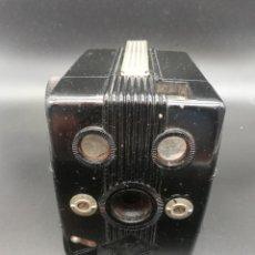 Cámara de fotos: CÁMARA AGFA BOX 14 CONOCIDO COMO TROLIX HECHO EN ALEMANIA 1938. Lote 188742228