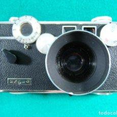 Cámara de fotos: ARGUS CAMARA FOTOGRAFICA-MADE IN U.S.A.-FUNCIONA-FUNDA CUERO-PARASOL METÁLICO KODAK-AÑOS 50. . Lote 189261888