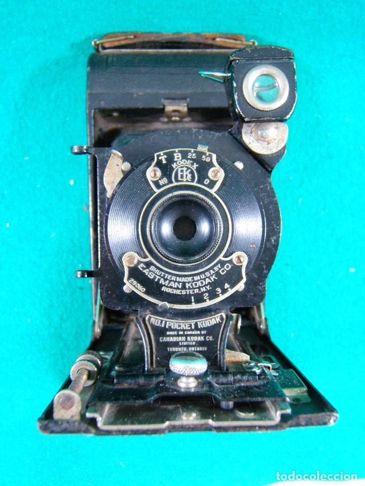 KODAK-KODEX EASTMAN ROCHESTER N.Y.-U.S.A.-Nº 0.I POCKET-CAMARA FOTOGRAFICA MADE IN CANADA-AÑOS 15 ?. (Cámaras Fotográficas - Antiguas (hasta 1950))