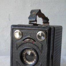 Cámara de fotos: CAMARA DE FOTO ANTIGUA LUMIERE SCOUTBOX. Lote 189813965