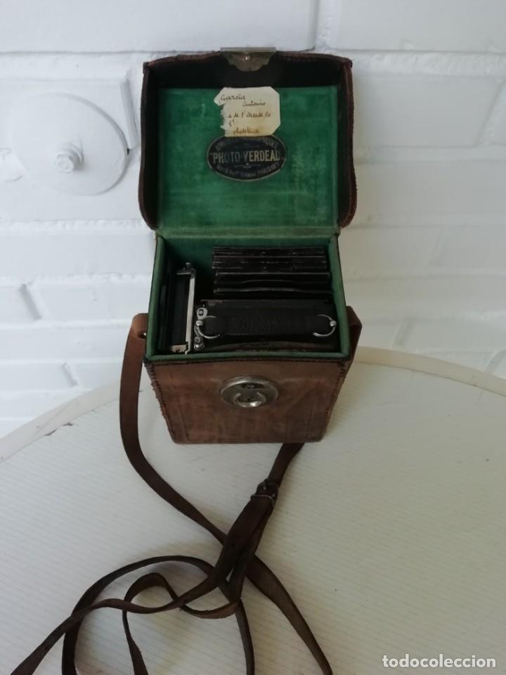 Cámara de fotos: Máquina fotográfica francesa años 20 - Foto 4 - 190221191