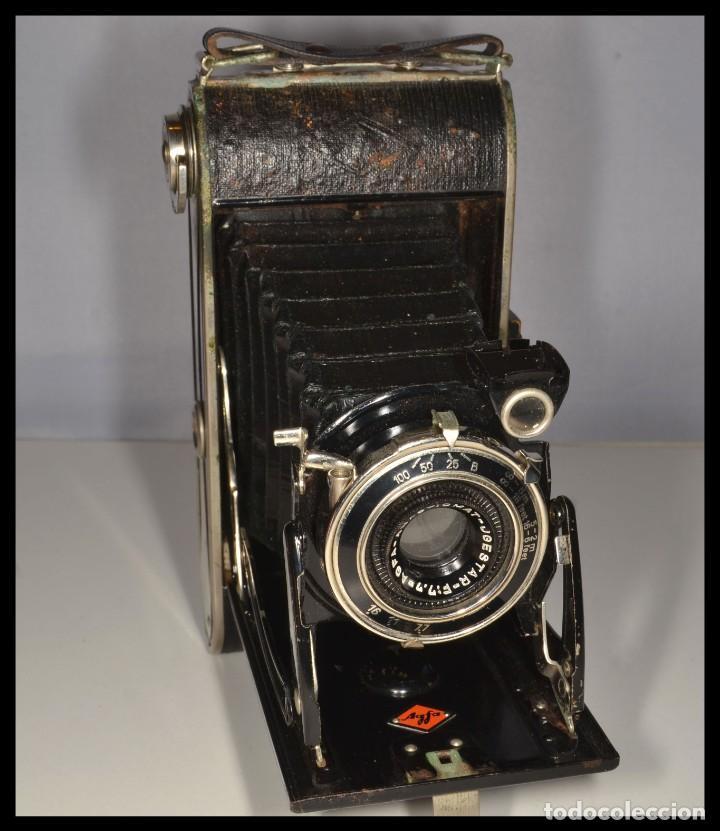 CÁMARA AGFA BILLY RECORD - REF. 1664/10 (Cámaras Fotográficas - Antiguas (hasta 1950))