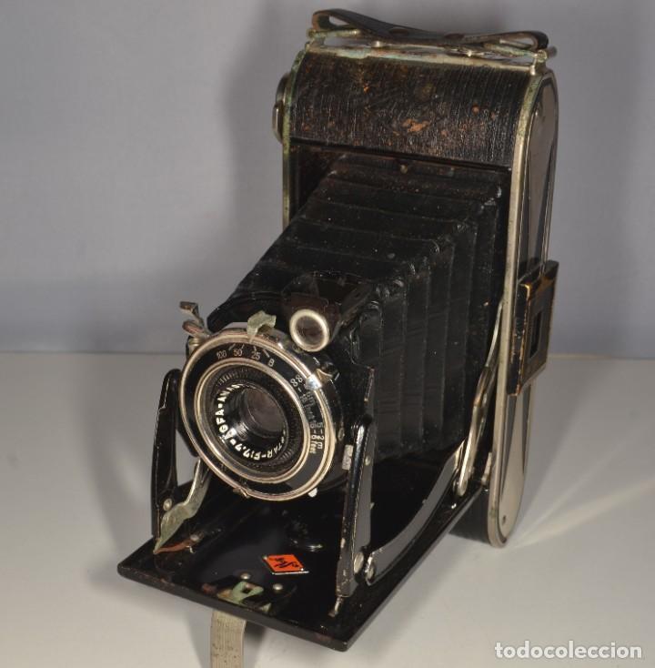 Cámara de fotos: Cámara Agfa Billy Record - Ref. 1664/10 - Foto 9 - 190314272
