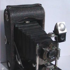 Cámara de fotos: MAGNIFICA CÁMARA KODAK FOLDING POCKET Nº 3, MODELO G. 1909.. Lote 190584968