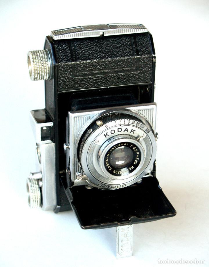 Cámara de fotos: *c1939* • Kodak AG RETINETTE II (type 160) • RARA Folder de preguerra, COMPUR Kodak Anastigmat f3.5 - Foto 6 - 190638311