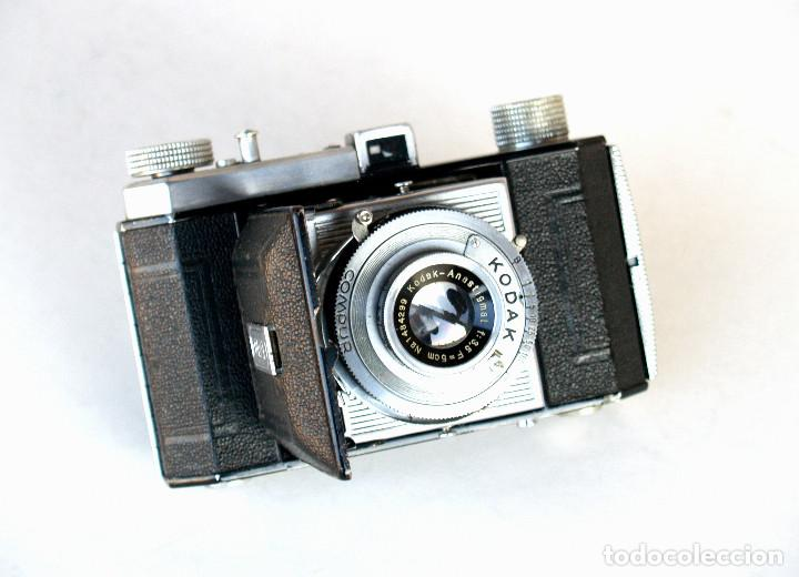 *C1939* • KODAK AG RETINETTE II (TYPE 160) • RARA FOLDER DE PREGUERRA, COMPUR KODAK ANASTIGMAT F3.5 (Cámaras Fotográficas - Antiguas (hasta 1950))