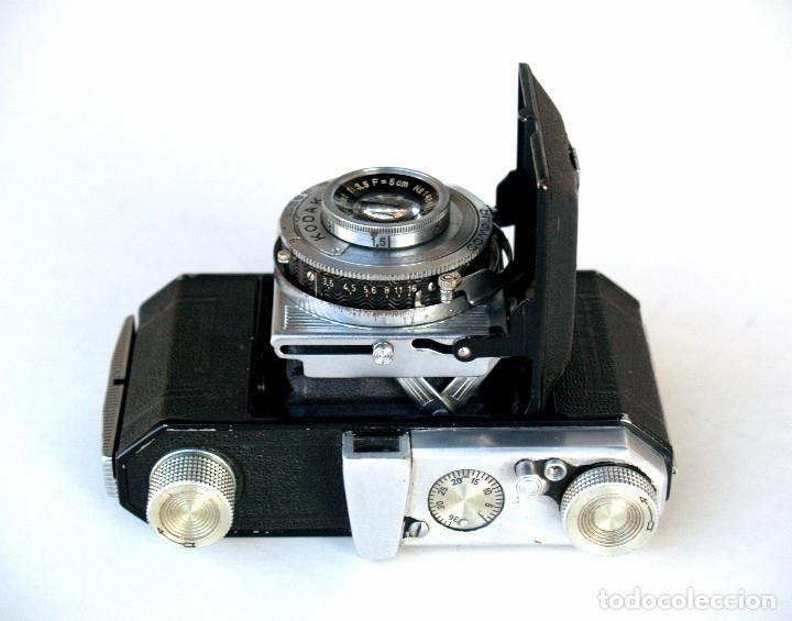 Cámara de fotos: *c1939* • Kodak AG RETINETTE II (type 160) • RARA Folder de preguerra, COMPUR Kodak Anastigmat f3.5 - Foto 3 - 190638311