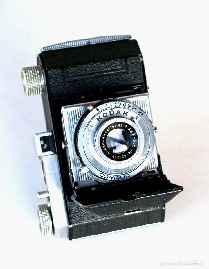 Cámara de fotos: *c1939* • Kodak AG RETINETTE II (type 160) • RARA Folder de preguerra, COMPUR Kodak Anastigmat f3.5 - Foto 2 - 190638311