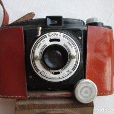 Cámara de fotos: CAMARA PHOTAX SERIE 8 PARIS CON SU FUNDA ORIGINAL DE PIEL Y TAPA OBJETIVO. PARA DECORACIÓN. Lote 191033448