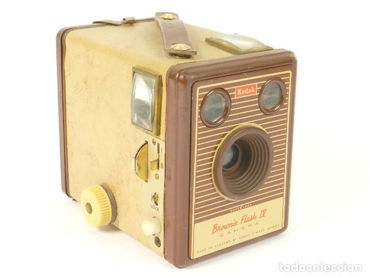 KODAK SIX-20 BROWNIE FLASH IV (Cámaras Fotográficas - Antiguas (hasta 1950))