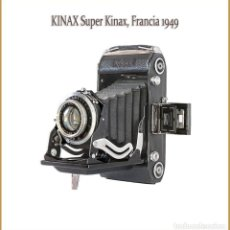 Appareil photos: KINAX SUPER KINAX, PLEGABLE DE 6X9 FABRICADA EN FRANCIA EN 1949. MUY BUEN ESTADO.. Lote 191846112