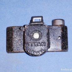 Câmaras de fotos: ANTIGUA MINI CAMARA ESPIA MARCA TITAN. Lote 192135813