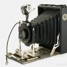 Cámara de fotos: CÁMARA FUELLE. WÜNSCHE MINIMAL . AÑO 1907. ALEMANIA.. Lote 177041262