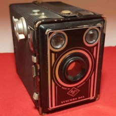 Cámara de fotos: CAMARA AGFA SYNCHRO BOX. Lote 192356008