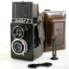 Cámara de fotos: CÁMARA LUBITEL 2 CON FUNDA USSR 1955-57. EXCELENTE FUNCIONA. Lote 192496240