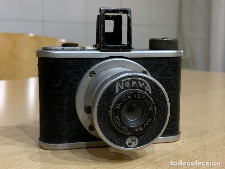 NERVA FABRICADA EN ESPAÑA (Cámaras Fotográficas - Antiguas (hasta 1950))