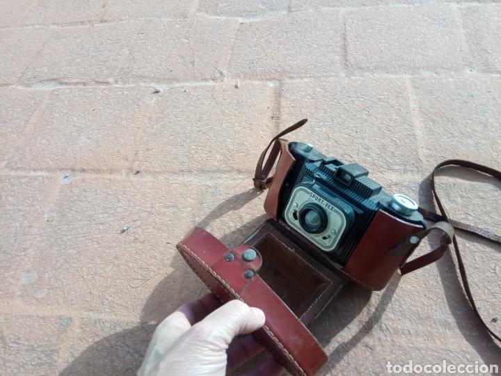 Cámara de fotos: Magnífica cámara bakelita. Sport - fex. Francia. Con funda. - Foto 2 - 193240377
