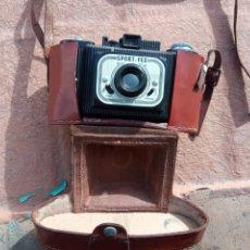 Cámara de fotos: MAGNÍFICA CÁMARA BAKELITA. SPORT - FEX. FRANCIA. CON FUNDA.. Lote 193240377