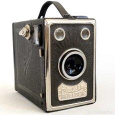 Cámara de fotos: CÁMARA BALDA ROLLBOX ART DECÓ. ALEMANIA 1935. FUNCIONA. Lote 193798953