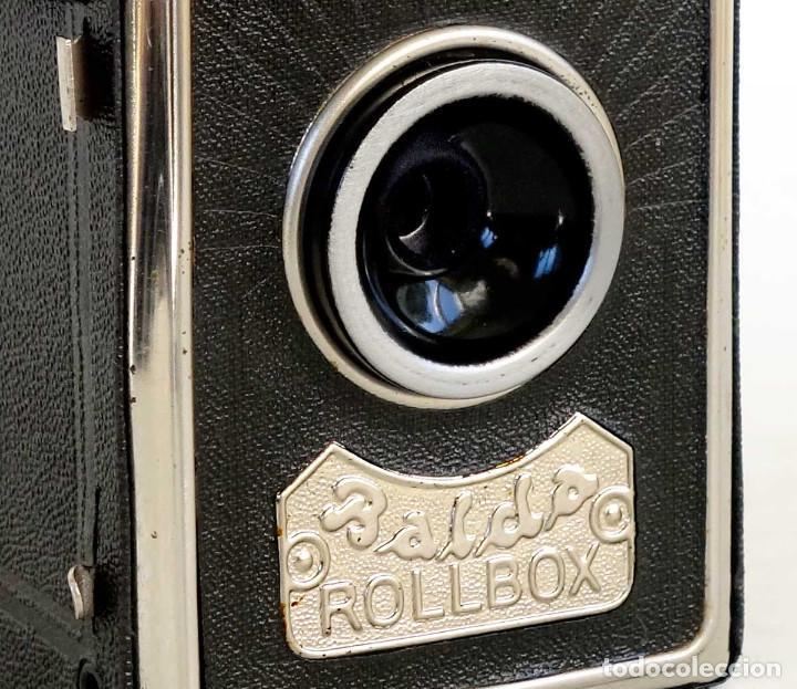 Cámara de fotos: CÁMARA BALDA ROLLBOX ART DECÓ. ALEMANIA 1935. FUNCIONA - Foto 2 - 193798953