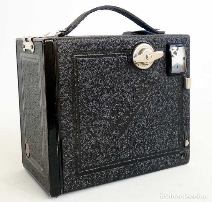 Cámara de fotos: CÁMARA BALDA ROLLBOX ART DECÓ. ALEMANIA 1935. FUNCIONA - Foto 3 - 193798953