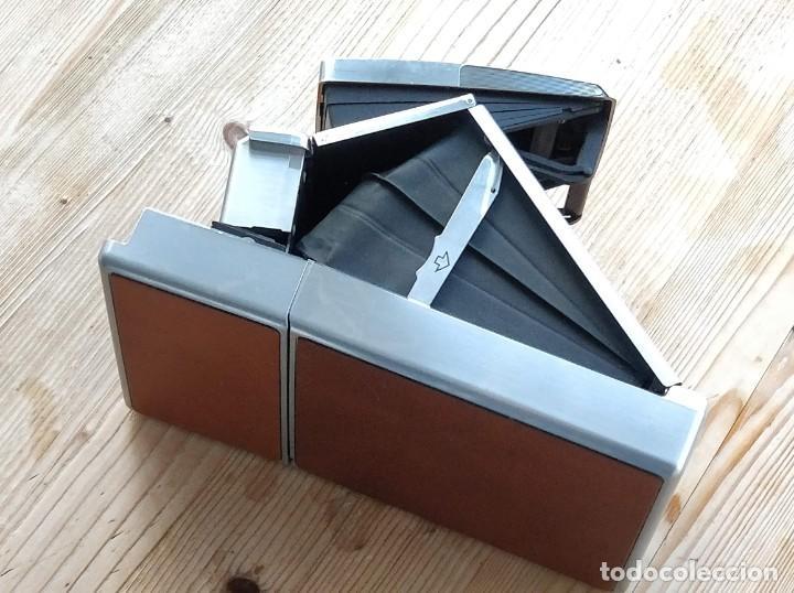 Cámara de fotos: Cámara instantánea marca Polaroid, modelo SX-70 - Foto 3 - 193997996