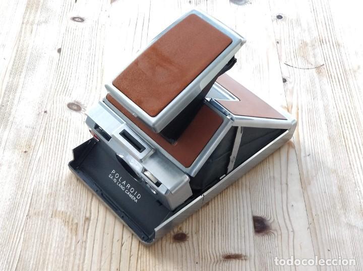 Cámara de fotos: Cámara instantánea marca Polaroid, modelo SX-70 - Foto 4 - 193997996