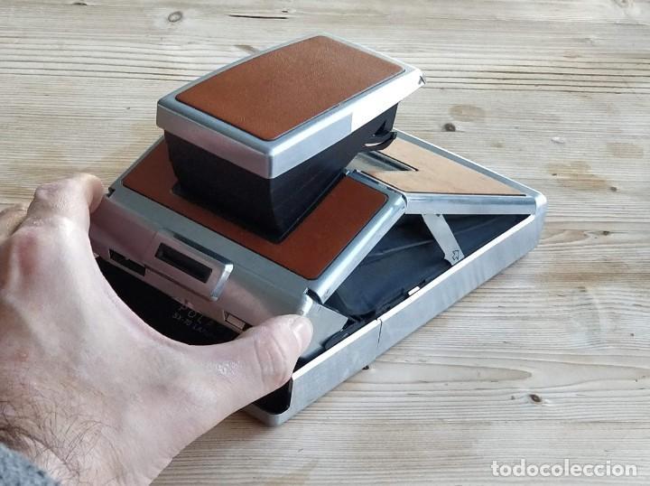Cámara de fotos: Cámara instantánea marca Polaroid, modelo SX-70 - Foto 5 - 193997996