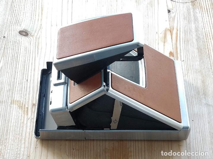 Cámara de fotos: Cámara instantánea marca Polaroid, modelo SX-70 - Foto 6 - 193997996
