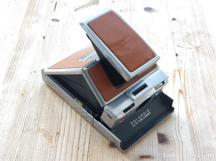 Cámara de fotos: Cámara instantánea marca Polaroid, modelo SX-70 - Foto 7 - 193997996